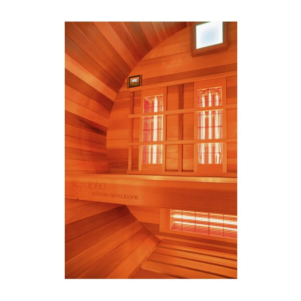 sauna ext rieur barrel infrarouge mypiscine