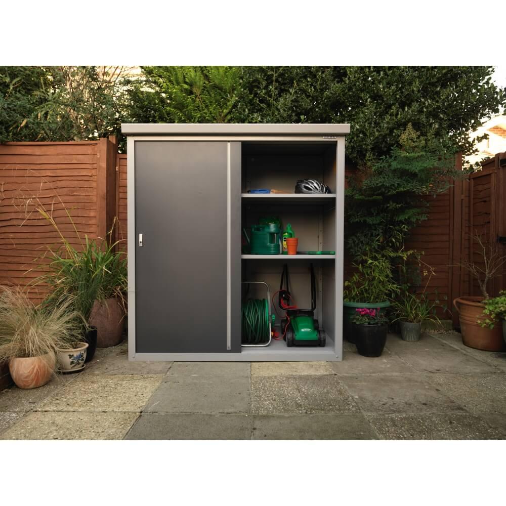 abri de jardin en m tal guardian d63 2 32 m mypiscine. Black Bedroom Furniture Sets. Home Design Ideas