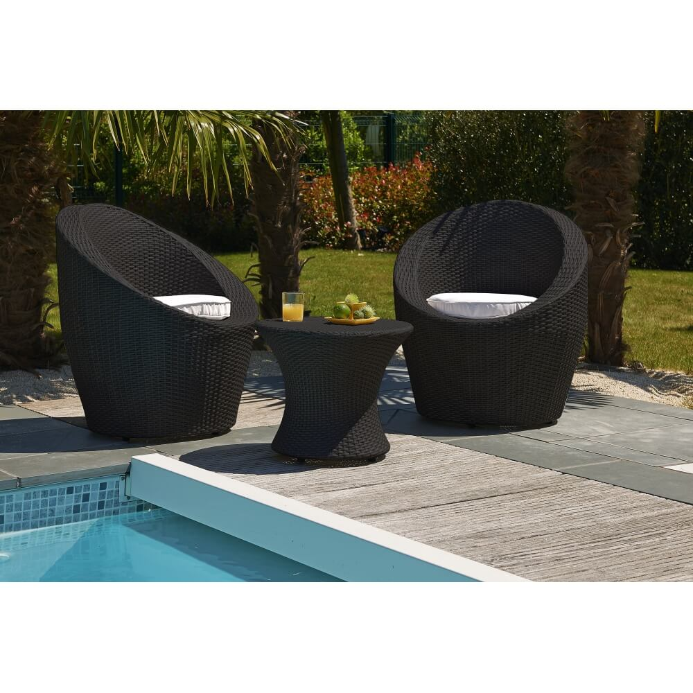 salon de jardin 2 places totem fidji mypiscine. Black Bedroom Furniture Sets. Home Design Ideas