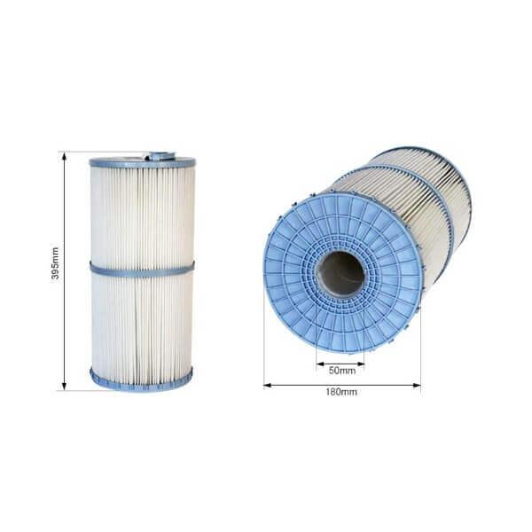 Cartouche filtrante c3 375 mm avec me non d montable for Cartouche filtrante piscine