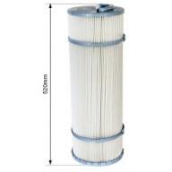 Cartouche filtrante C5 (500 mm) avec âme non démontable