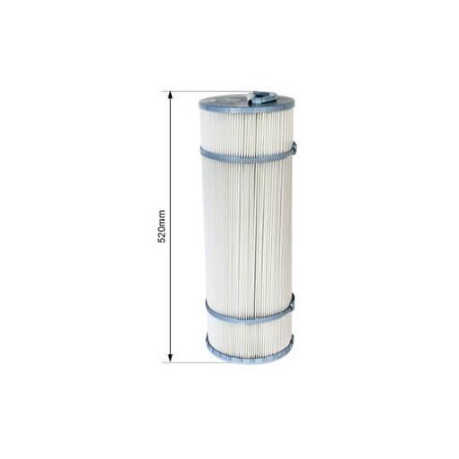 Cartouche filtrante c5 500 mm avec me non d montable for Cartouche filtrante piscine