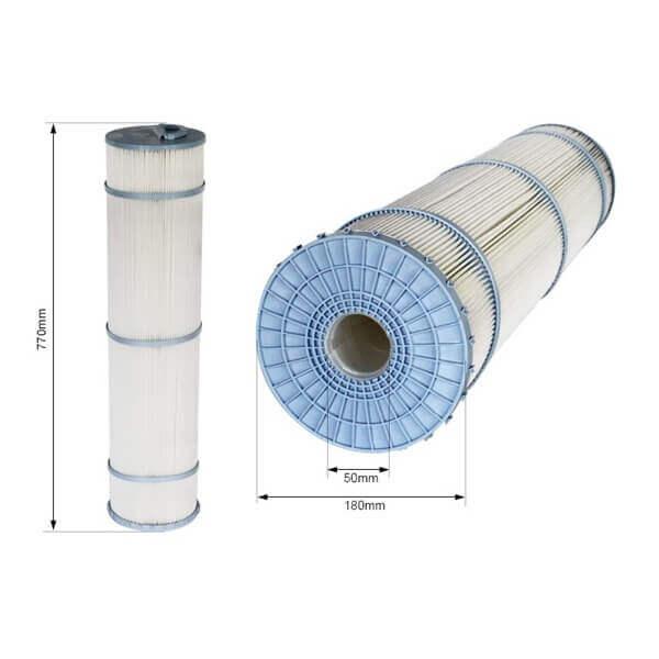 Cartouche filtrante c7 750 mm avec me non d montable for Cartouche filtrante piscine
