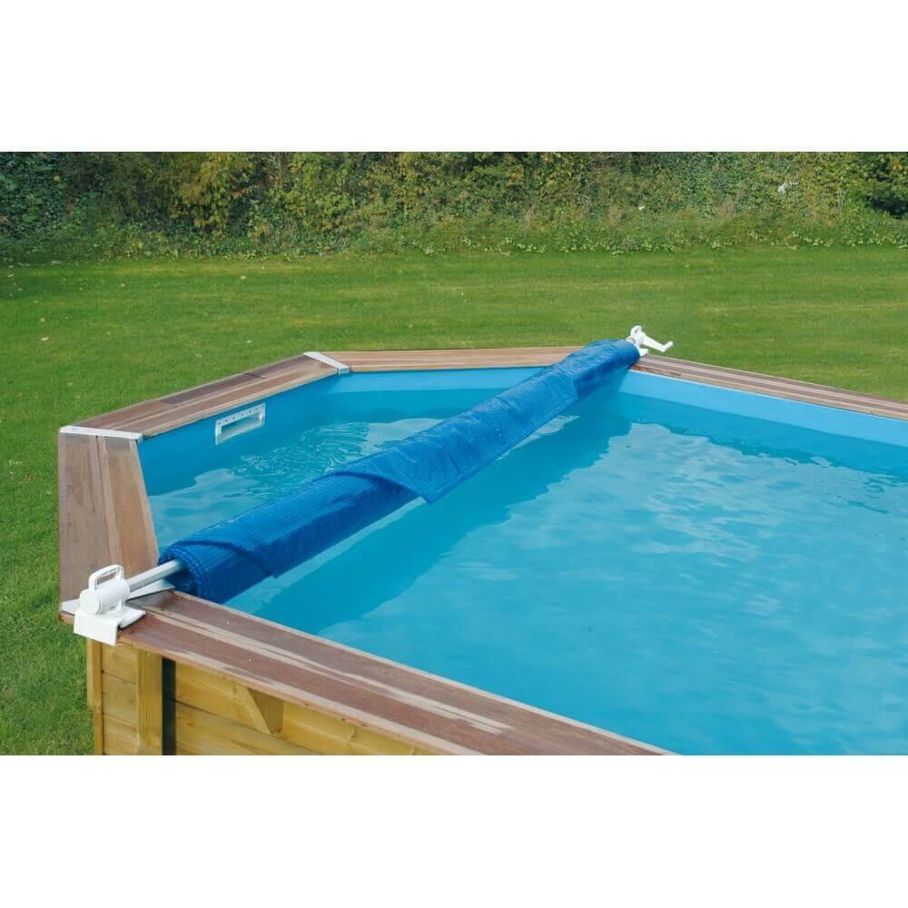 B che bulles 400 microns bord e 300 x 300 cm mypiscine - Bache a bulles piscine ...