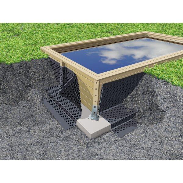 nappe protectrice drainante pour piscine mypiscine. Black Bedroom Furniture Sets. Home Design Ideas