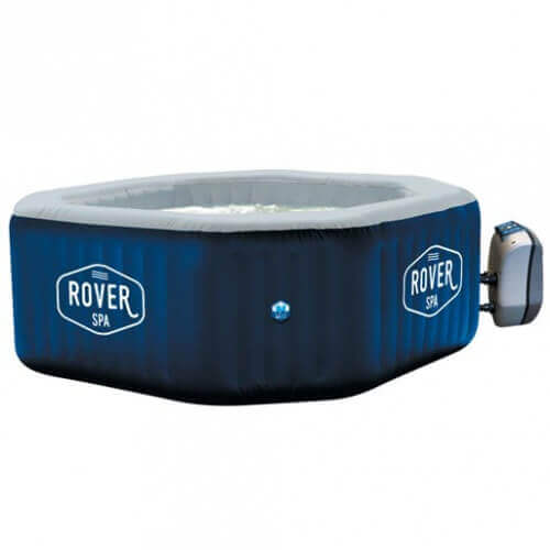 Spa gonflable netspa rover 6 places mypiscine for Spa gonflable exterieur