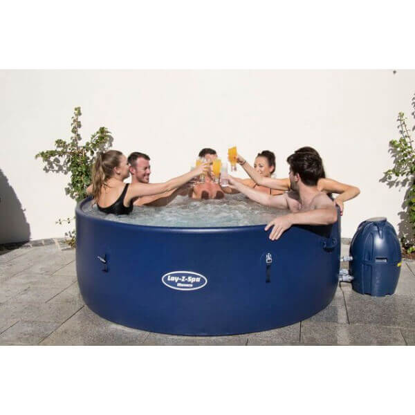 spa gonflable rond bestway monaco 6 8 places mypiscine. Black Bedroom Furniture Sets. Home Design Ideas