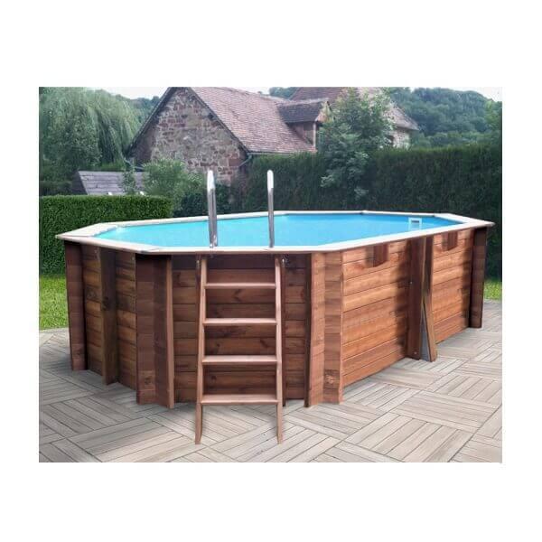 piscine bois sunbay safran x m mypiscine