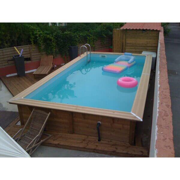 piscine bois ubbink lin a 500 x 800 x cm mypiscine. Black Bedroom Furniture Sets. Home Design Ideas