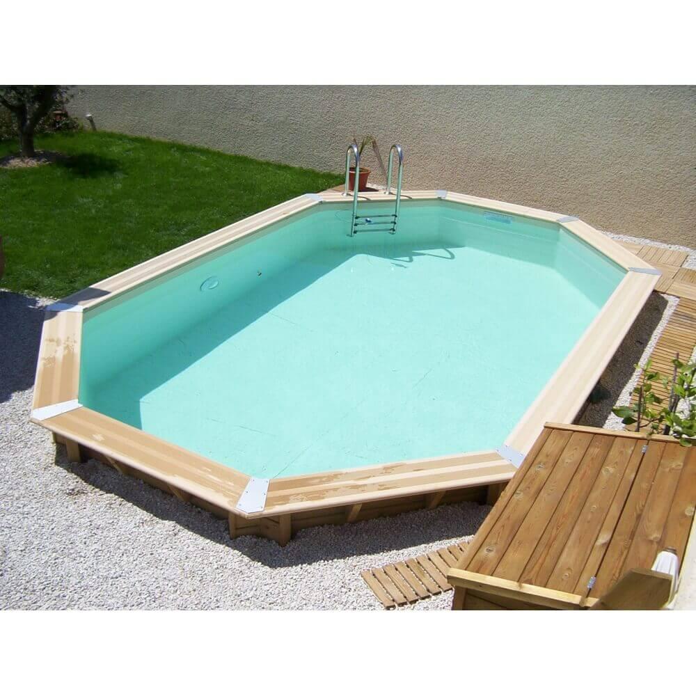 piscine bois ubbink ocea