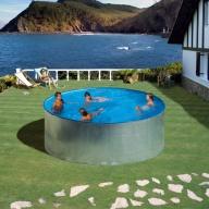 Piscine hors-sol Tenerife Ø350 H90 cm - Filtre à cartouches