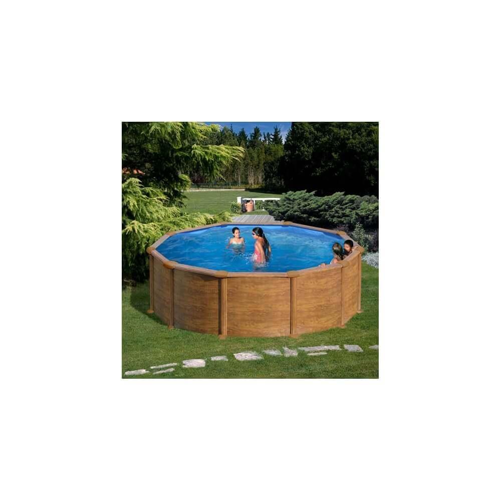 piscine hors sol gre sicilia ronde 460 h 120 mypiscine. Black Bedroom Furniture Sets. Home Design Ideas