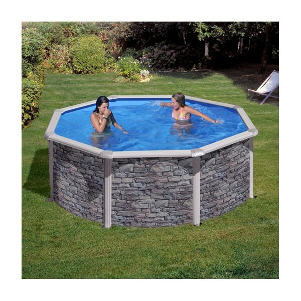 piscine hors sol gre cerdena 350 h120 cm kit350po mypiscine. Black Bedroom Furniture Sets. Home Design Ideas