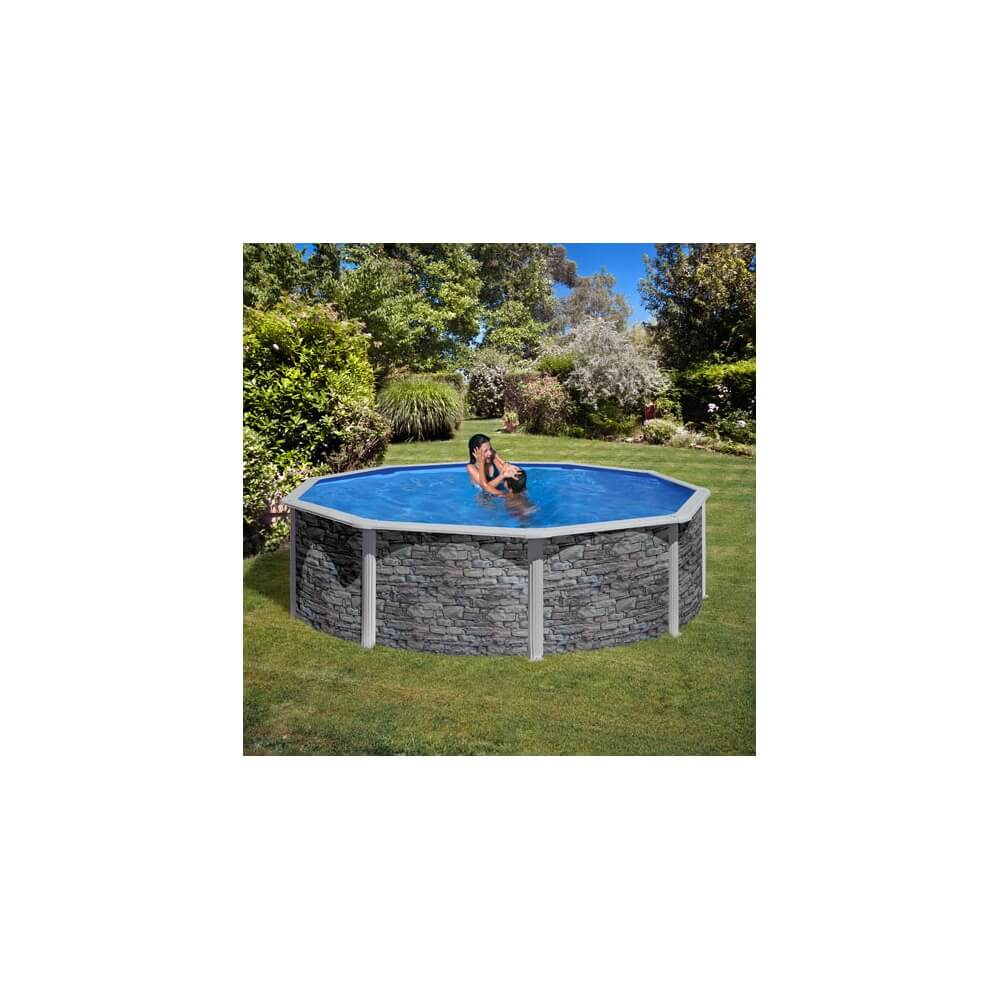 piscine hors sol gre cerdena 460 h120 cm kit460w mypiscine. Black Bedroom Furniture Sets. Home Design Ideas