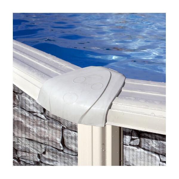 Piscine hors sol gre cerdena 460 h120 cm kit460w mypiscine for Branchement filtre a sable piscine hors sol
