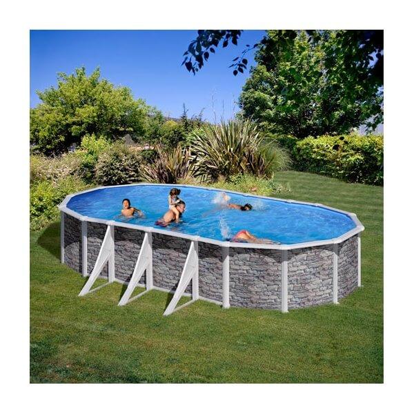 piscine hors sol gre cerdena 730 x 375 h120 cm kit730po mypiscine. Black Bedroom Furniture Sets. Home Design Ideas