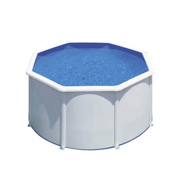 Piscine hors sol gre fidji 240 h120 cm kit240eco mypiscine - Filtre sable piscine hors sol ...