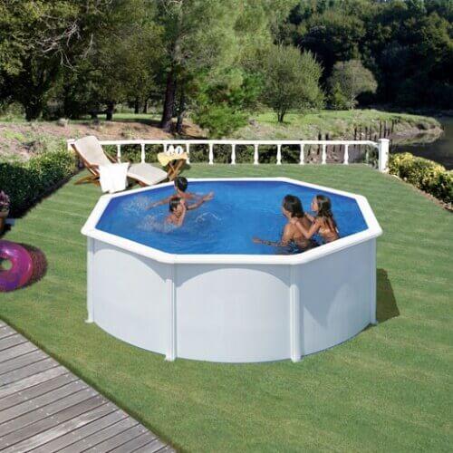 piscine hors sol gre fidji 300 h120 cm kit300eco mypiscine. Black Bedroom Furniture Sets. Home Design Ideas