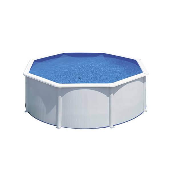 Piscine hors sol gre fidji 300 h120 cm kit300eco mypiscine for Piscine hors sol filtre a sable