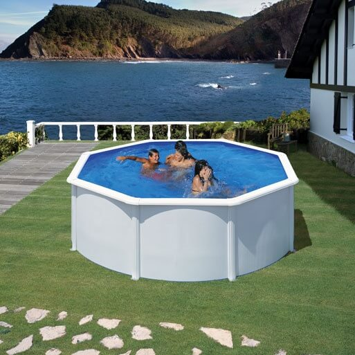 piscine hors sol gre fidji 350 h120 cm kit350eco mypiscine. Black Bedroom Furniture Sets. Home Design Ideas