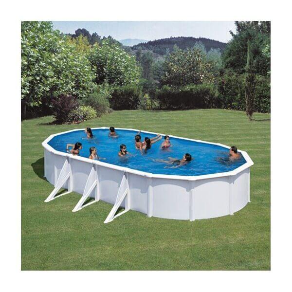 piscine hors sol gre fidji 810 x 470 x h120 cm kit810eco. Black Bedroom Furniture Sets. Home Design Ideas