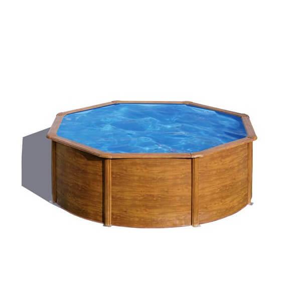 Piscine hors sol gre pacific 350 350 h120 cm kit350w mypiscine - Filtre a sable piscine hors sol ...