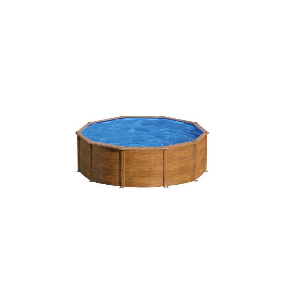 Piscine hors sol gre pacific 460 460 h120 cm kit460w - Filtre a sable piscine hors sol ...
