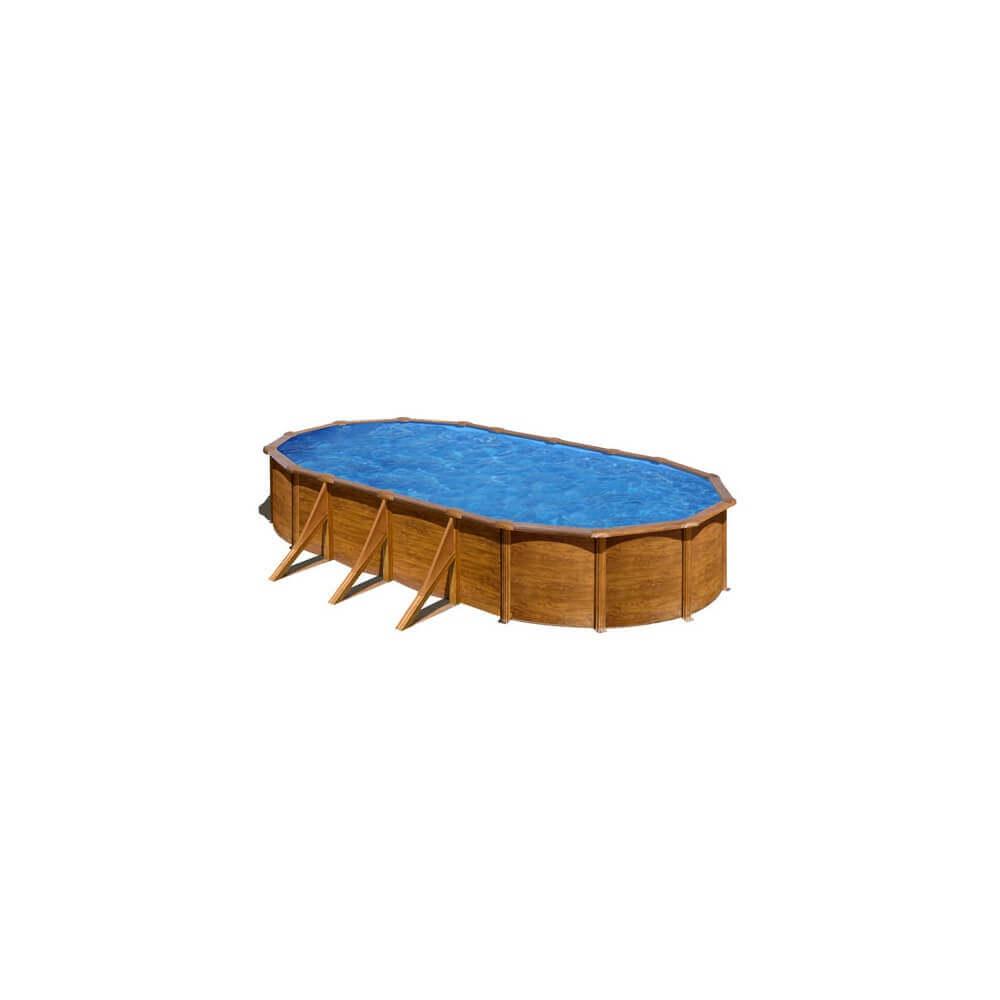 Piscine hors sol pacific 730 x 375 h120 cm kit730w mypiscine - Filtre sable piscine hors sol ...