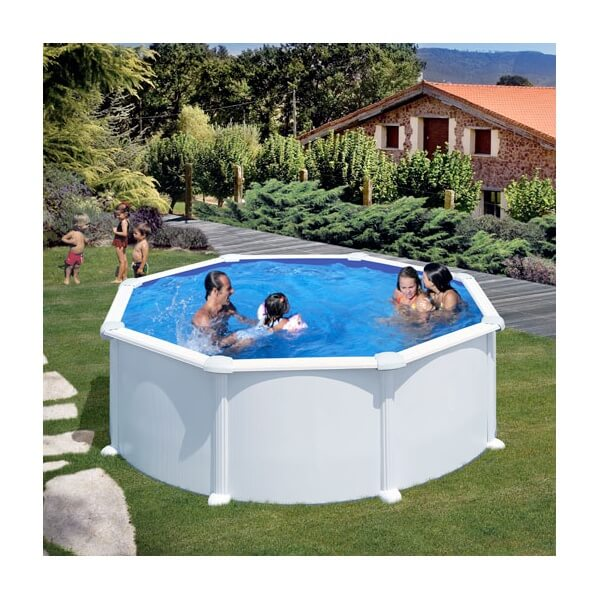 piscine hors sol gre atlantis ronde 350 h132 mypiscine. Black Bedroom Furniture Sets. Home Design Ideas