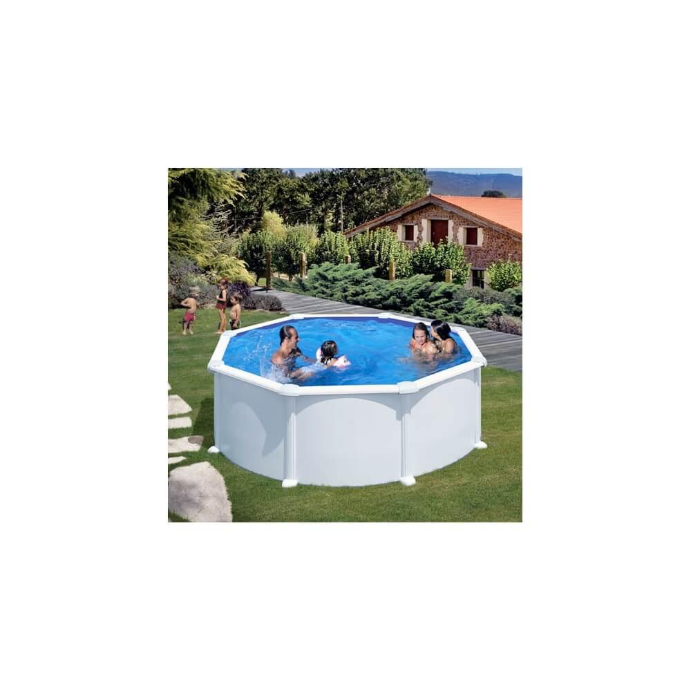 piscine hors sol gre atlantis ronde 350 h132 mypiscine. Black Bedroom Furniture Sets. Home Design Ideas