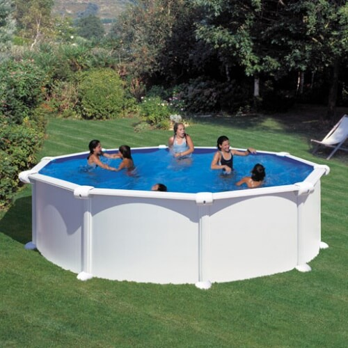 piscine hors sol gre atlantis ronde 460 h132 mypiscine. Black Bedroom Furniture Sets. Home Design Ideas