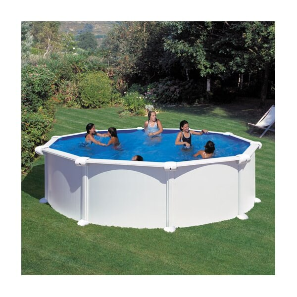 Piscine hors sol gre atlantis ronde 460 h132 mypiscine for Atlantis piscine