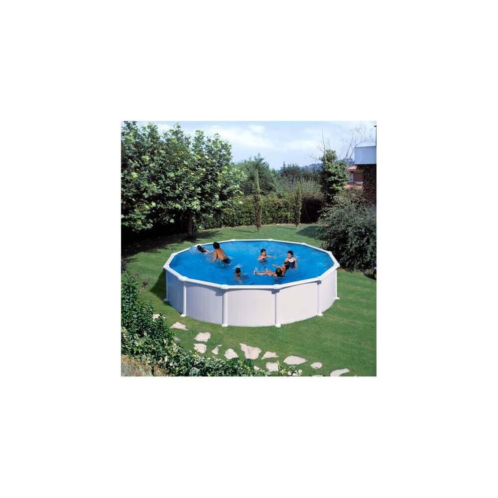 piscine hors sol gre atlantis ronde 550 h132 mypiscine. Black Bedroom Furniture Sets. Home Design Ideas