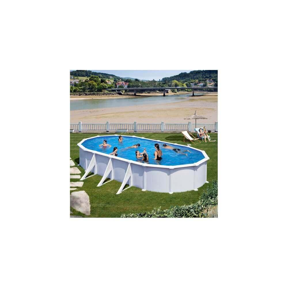 piscine hors sol gre atlantis ovale 730 x 375 h132 mypiscine. Black Bedroom Furniture Sets. Home Design Ideas