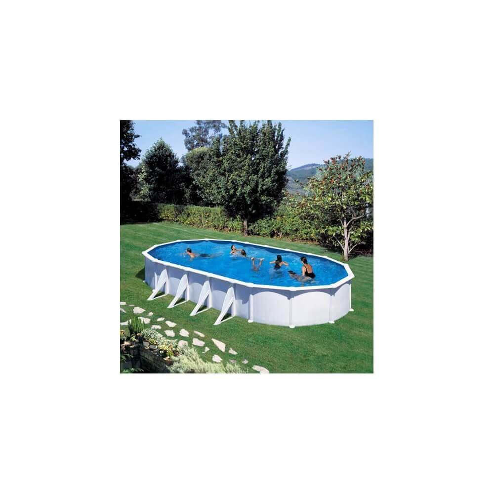 Piscine hors sol gre atlantis ovale 915 x 470 h132 mypiscine - Filtre a sable piscine hors sol ...