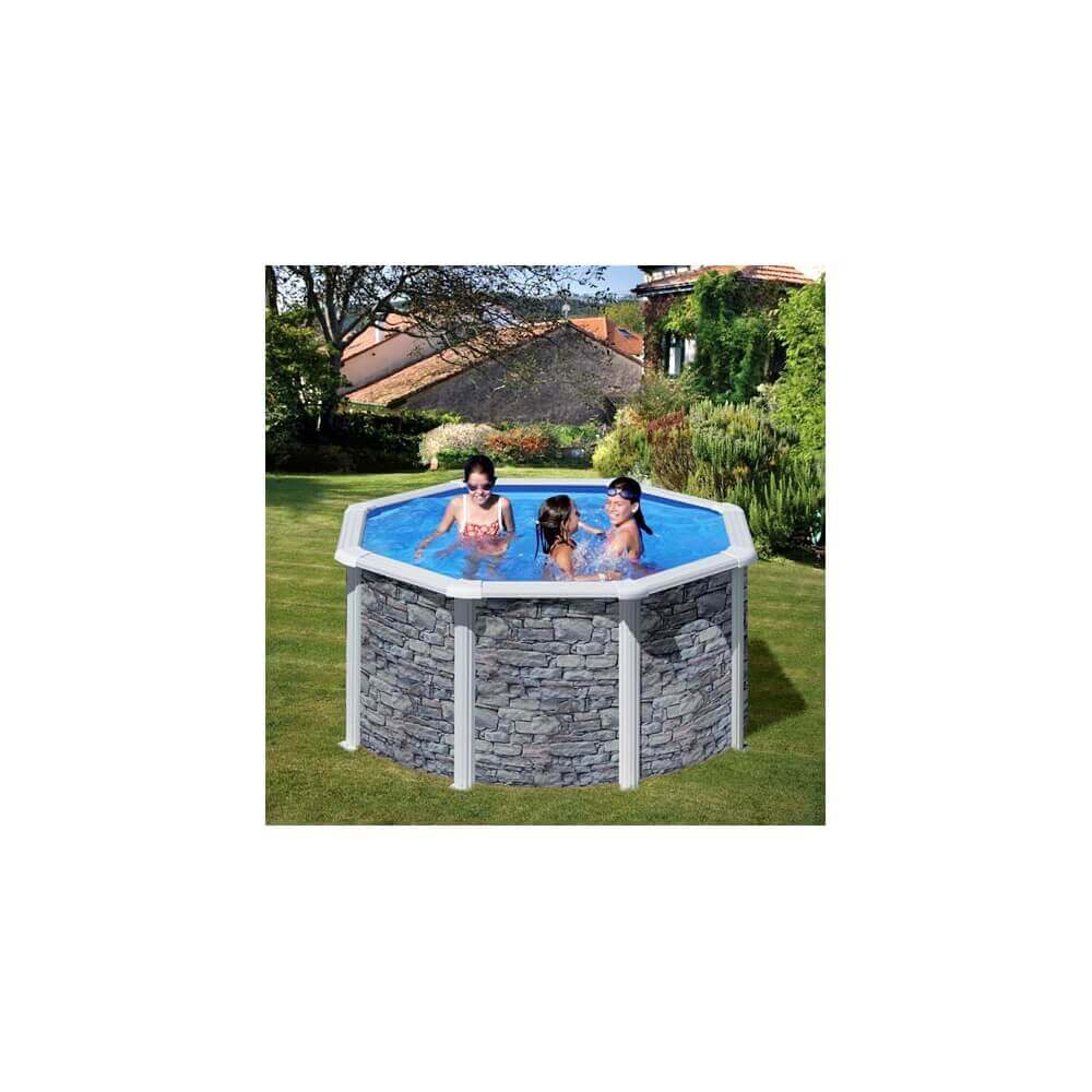 piscine hors sol gr c rcega kitpr358po mypiscine. Black Bedroom Furniture Sets. Home Design Ideas