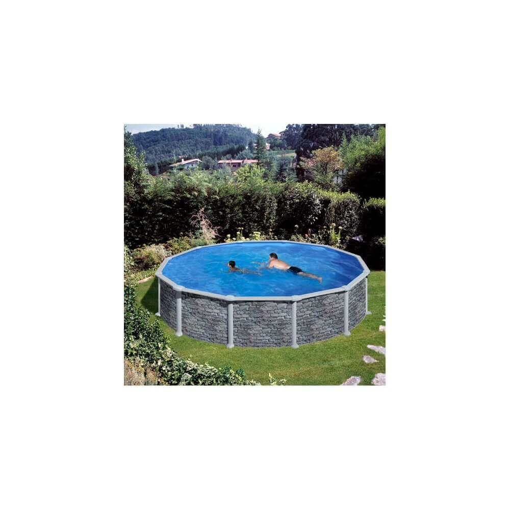 Piscine hors sol gr c rcega kitpr458po mypiscine - Filtre sable piscine hors sol ...