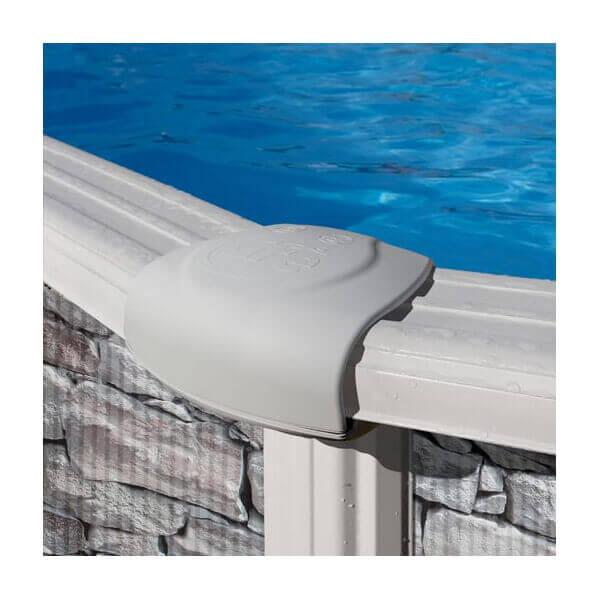 Piscine hors sol gr c rcega kitprov618po mypiscine for Branchement filtre a sable piscine hors sol