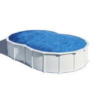 Piscine hors-sol Varadero 500 x 340 H120 cm - Filtre à sable