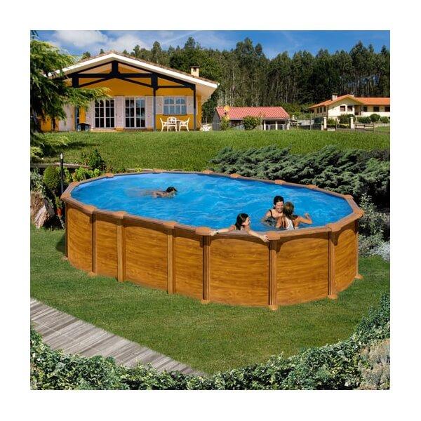 Piscine amazonia ovale 610 x 375 h 132 au meilleur prix for Meilleur piscine hors sol