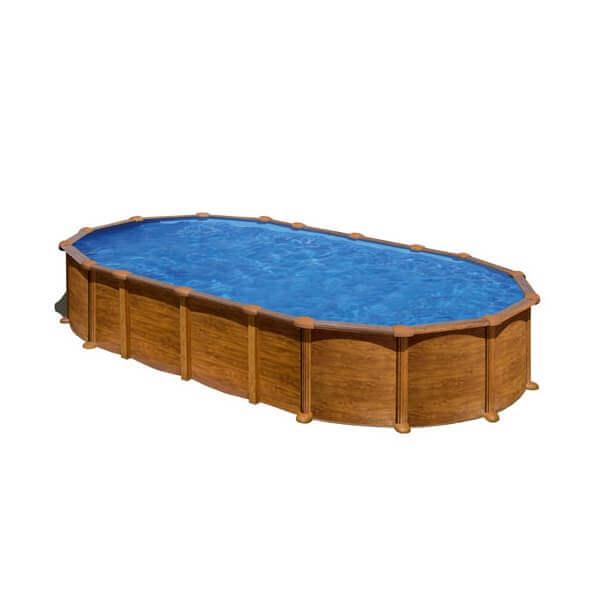 Piscine amazonia ovale 730 x 375 h 132 au meilleur prix chez mypiscine piscine hors sol gre - Piscine hors sol avec filtre a sable ...