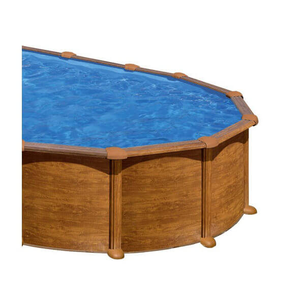 piscine amazonia ovale 730 x 375 h 132 au meilleur prix. Black Bedroom Furniture Sets. Home Design Ideas