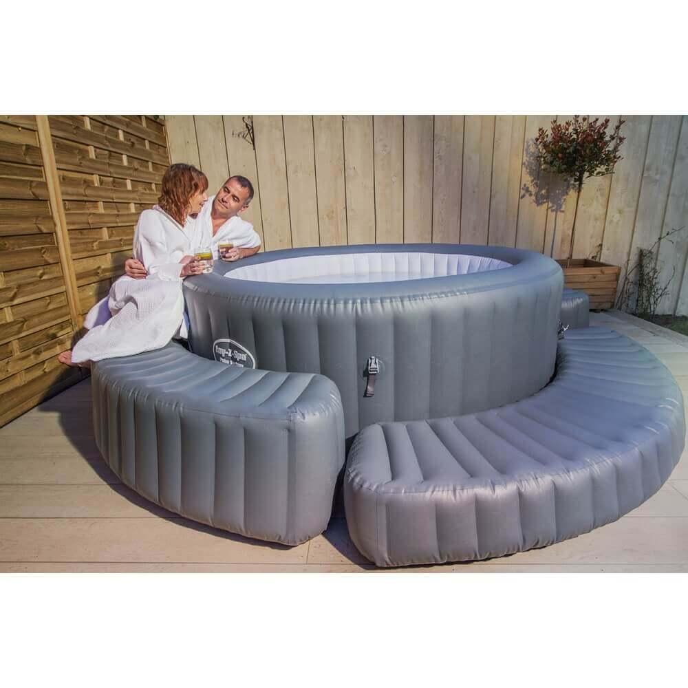 banc gonflable pour spa bestway lay z. Black Bedroom Furniture Sets. Home Design Ideas