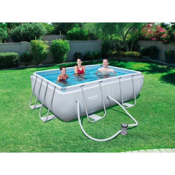 piscine tubulaire power steel pro frame pool 282 x 196 h 84 cm. Black Bedroom Furniture Sets. Home Design Ideas