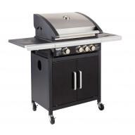 Barbecue gaz Américain FIDGI (3 brûleurs + side)