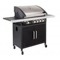 Barbecue gaz Américain FIDGI 4 (4 brûleurs + side)