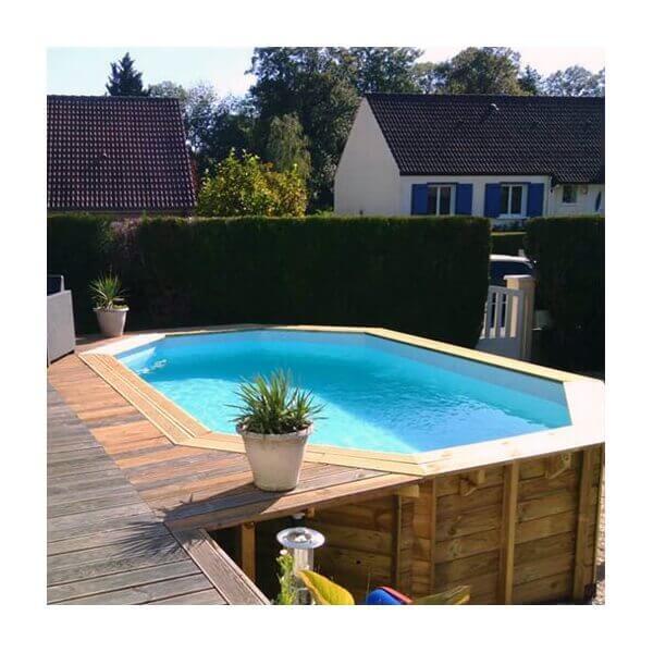 piscine hors sol sunbay en bois 4 46x3 36m mypiscine