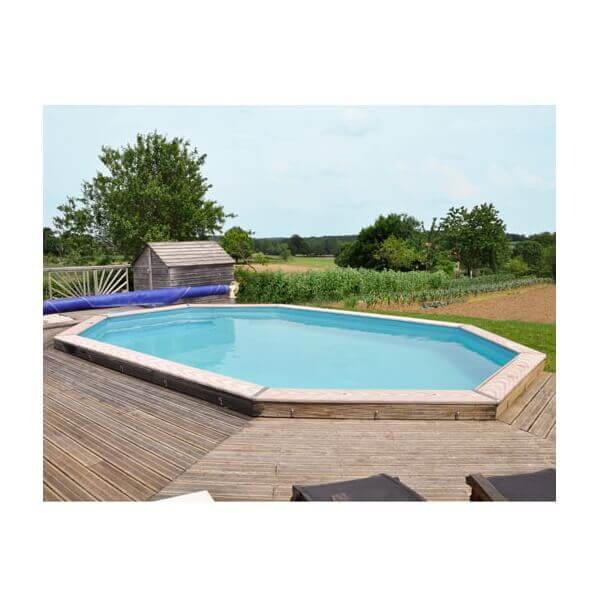piscine hors sol sunbay en bois 9 42x5 92m mypiscine. Black Bedroom Furniture Sets. Home Design Ideas
