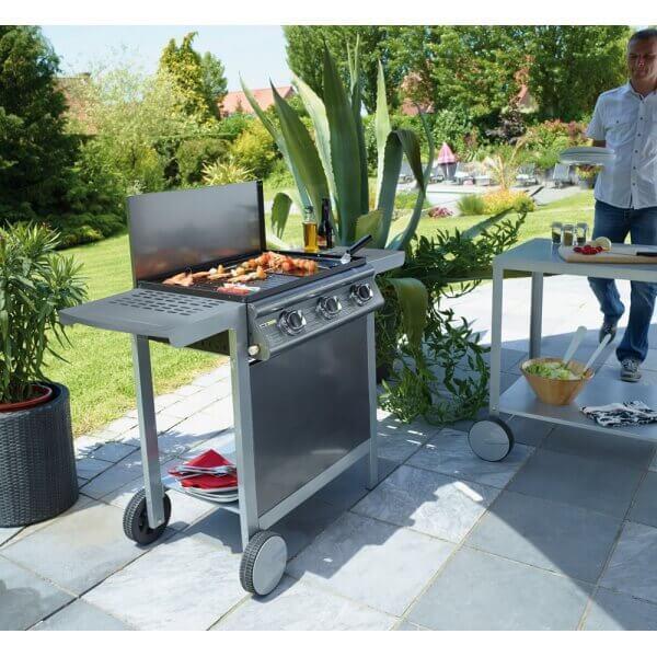 plancha gaz cookin garden puerta luna. Black Bedroom Furniture Sets. Home Design Ideas