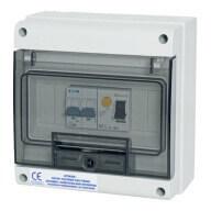 Coffret de protection 40 A pour pompe à chaleur de piscine